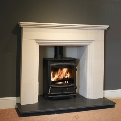 Fireplaces with stoves