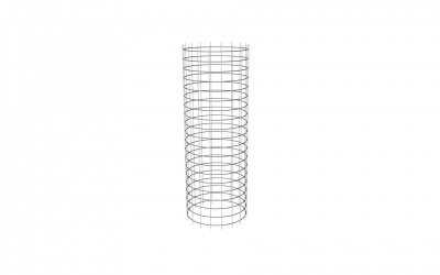 DURA TWIN WALL CHIMNEY CAGE 150MM