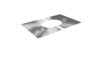 DURA TWIN WALL FINISHING PLATE 2 PART SQUARE 0-30 DEGREE 130