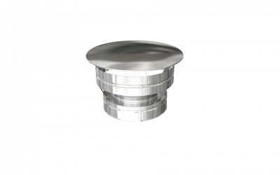 DURA TWIN WALL WEATHERING CAP 180MM