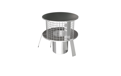 POT HANGER RAIN CAP 316 STAINLESS STEEL 150 MM