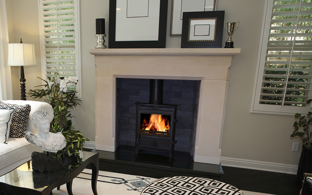 Chester Fireplace & Stove Package