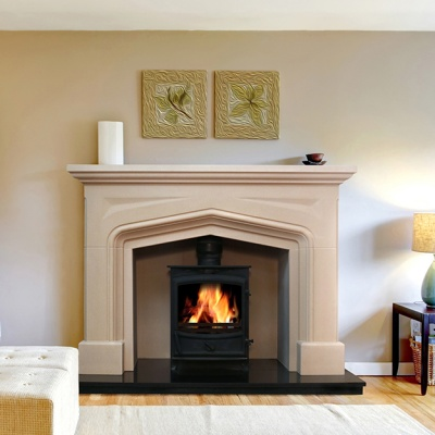 Halesworth Fireplace & Stove Package