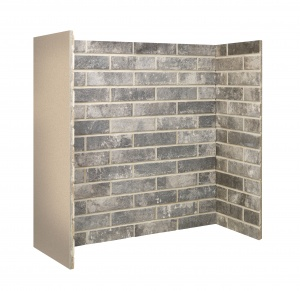 Grey Ceramic Brick Bond Chamber
