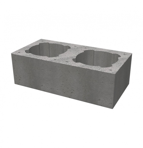 Double casing block