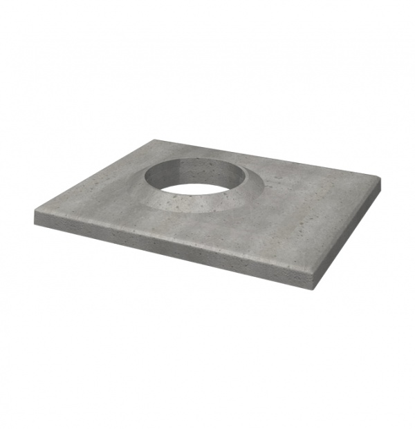 Single ventilated top plate 160