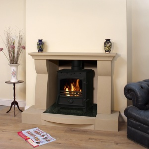 Cannes Fireplace & Stove Package
