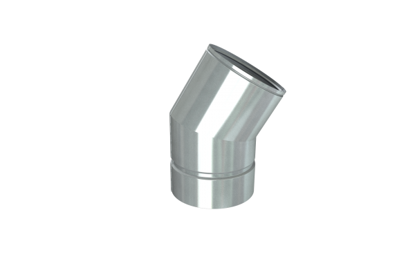 DURA GAS VENT 30 DEGREE ELBOW 5''