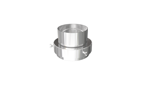 MR DURA FLUE ADAPTOR 125MM - 150MM (5-6)