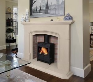 Hadleigh Fireplace & Gas Stove Package